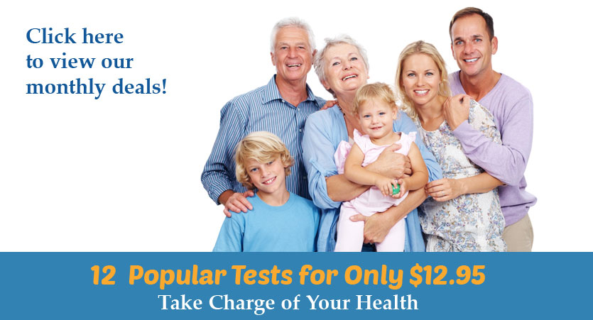Save up to 80% on PSA, Testosterone, CBC, Iron, Insulin, A1c, Lipid Panel, TSH, B12, Urinalysis, BMP, Liver &Tests