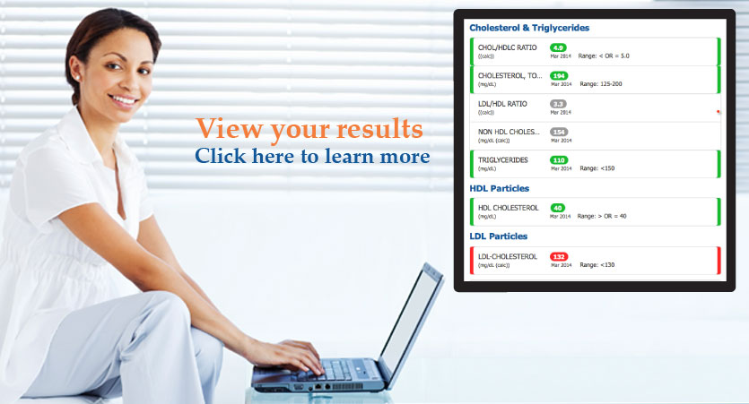 View your results. Click here to learn more.